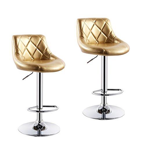 Xueping 360 gradi rotante telescopica sedia da ufficio parrucchiere sedia sgabello da bar sedia di bellezza sedia quattro stagioni singola / doppia sedia sgabello da bar sedia colore sedia ( colore : a , dimensioni : due )