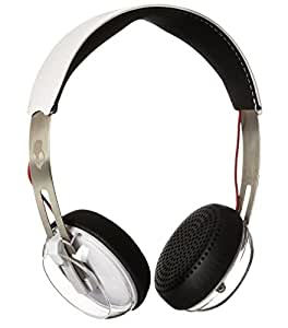 Skullcandy S5GRHT-472 Grind 2.0 ATG On-Ear Headphones with Mic (White and Silver)