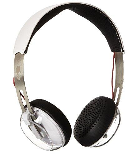 Skullcandy Grind On-Ear Leicht Kopfhörer mit TapTech Playback Fernbedienung zur Musiksteuerung - Weiß/Schwarz/Rot (Damen-crusher)