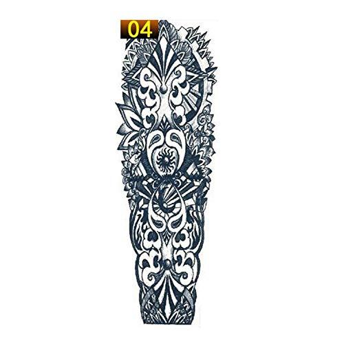 VCB Full Arm Flower Tattoo Sticker Waterproof Temporary Tattoo Sleeve Body Paint