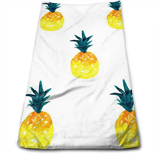Wodann Pineapple Summer Microfiber Towel (30-Inch-by-70-Inch) Ultra Absorbent Travel Towels Fast Drying Sports Towel Gym Towels- Multifunction Bath Sheet Towel