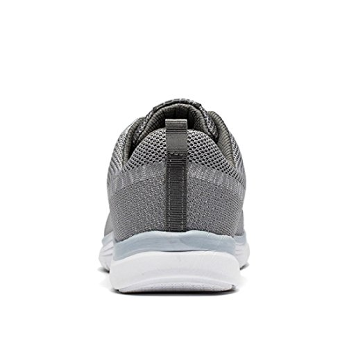 Herren Sportschuhe Atmungsaktiv Lässige Schuhe Licht Ausbilder Draussen Laufschuhe Grey