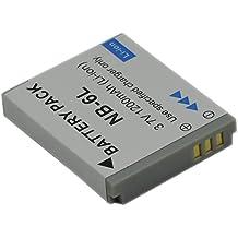 Lot de 1batterie BTBAI 1,2A NB-6L NB-6LH NB6LH pour Canon IXY Digital 10s 200F 30S 31S 32S 11025930IXUS 9520021010530031085PowerShot D10D20D30ELPH 500hs S120S200S90S95SD1200SD1300SD3500SD4000SD770SD980SX170SX240SX260SX270SX280SX500SX510SX520SX60SX600/SX700SX420sx540HS IS