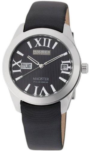 Haurex Italy FA356DN1 - Reloj de mujer de cuarzo, correa de textil color negro