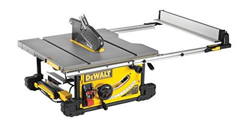 DeWalt Tischkreissäge DW745/ Leistungsstarke Säge mit Parallel- und Gehrungsanschlag für höchste Präzision / Tischkreissäge inkl. HM-Sägeblatt und Absaugreduzierung / 1850W - 4