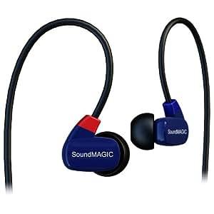 SoundMAGIC PL50 Noise Isolating In-Ear Monitor Earphones (Blue)