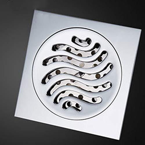 UNKB Badezimmer Deodorant Drainage Port Bodenablauf Waschmaschine Duschraum Drainagesieb Deodorant Flugzeug Grid Core Abwasserkanal Alle Bronze Abflussrohr (Style : C) -
