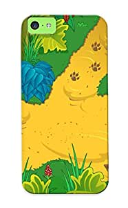 Case For Iphone 5c Tpu Phone Case Cover(go Diego Go Wolf Pup) For Thanksgiving Day's Gift
