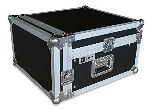 Winkelrack 3/10 HE Flightcase Case Rack DJ Mixer CD Player