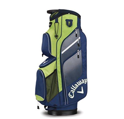 Callaway CG CT Chev ORG Bolsa para Carro de Golf, Unisex Adulto, Azul Marino/Verde/Plata, Talla Única