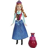 Frozen - Muñeca, Anna color mágico (Mattel BDK32)