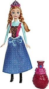 Disney Frozen - Muñeca, Anna Color mágico (Mattel BDK32)
