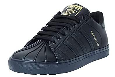 Black Tiger Men's Black Sneakers-6 UK/India (40 EU) (8074)