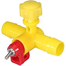 FTVOGUE 10 unids/Pack alimentador automático de Pollo pezones Agua Bebedero dispensador para la avicultura