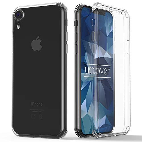 Urcover® 360 Grad rundum Schutzhülle kompatibel mit Apple iPhone XR I berühmt aus Galileo I Quattro Edition I Transparent