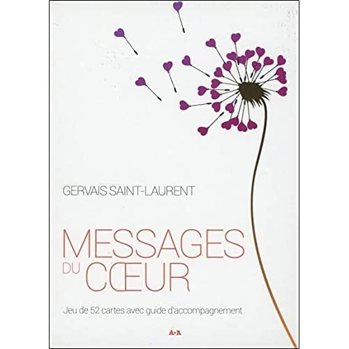 Messages du coeur - Coffret 52 cartes + Livret