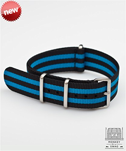 mks-nylon-nato-watch-straps-matte-brushed-stainless-steel-drmanhattan-blue-black-20mm
