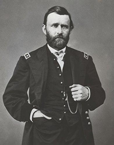 John Parrot/Stocktrek Images – Digitally restored vector portrait of General Ulysses S. Grant. Photo Print (31,75 x 40,64 cm) (Ulysses S Grant Portrait)