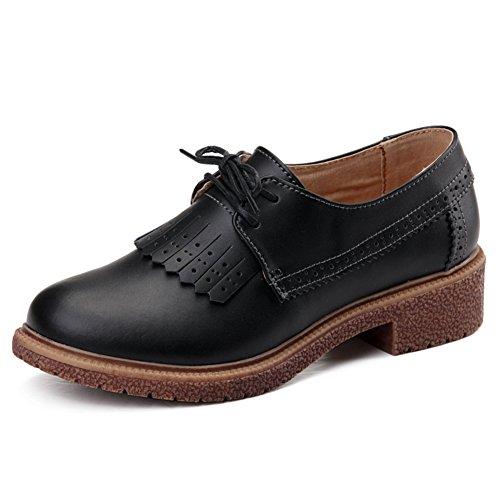 Chaussures casual féminin printemps/Chaussures en cuir plat/escoge los zapatos/Souliers pour dames l'Angleterre des/Plat léger chaussures C