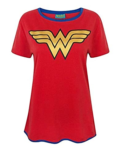 Wonder Woman Metallic Logo Women's T-Shirt (XL)