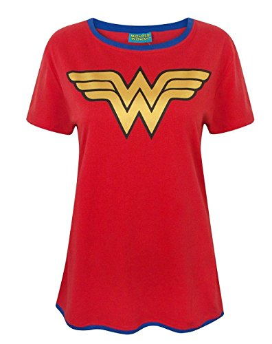 Wonder Woman Metallic Logo T-shirt