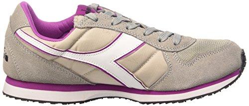 Diadora K_Run, Sneaker Unisex - Adulto Grigio Paloma/vil Vivido