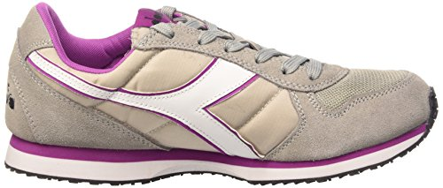 Diadora K_run, Chaussures Mixte Adulte Grigio Paloma/vil Vivido