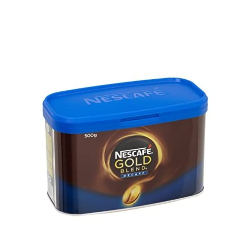NESCAFÉ Gold Blend Instant Decaffeinated Coffee Tin, 500 g