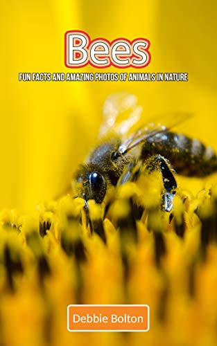 Bees: Fun Facts and Amazing Photos of Animals in Nature (English Edition)