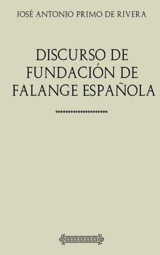 Discurso de fundación de Falange Española