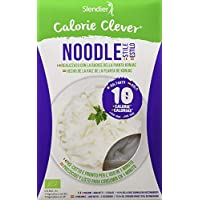 Slendier Pasta Konjac Noodle sin Gluten Bio, 400g, (Caja 6 Unidades), Total 2400g