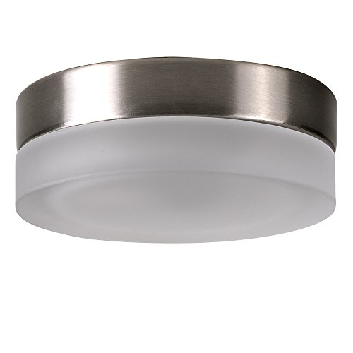 brushed-chrome-round-flush-ceiling-light-fitting-frosted-glass-light