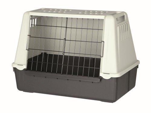 Jaula para perros TRIXIE Transporte coche Negro/Gris