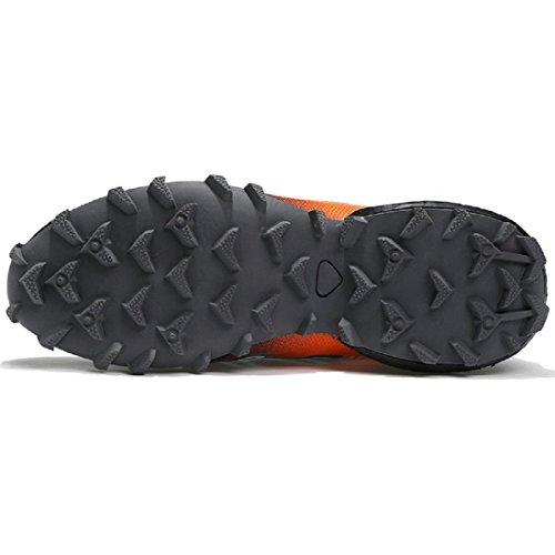 Uomo Scarpe sportive Scarpe da viaggio Scarpe da pallacanestro formatori Scarpe da calcio Scarpe da ginnastica Antiscivolo traspirante Taglia larga È aumentato Scarpe Orange