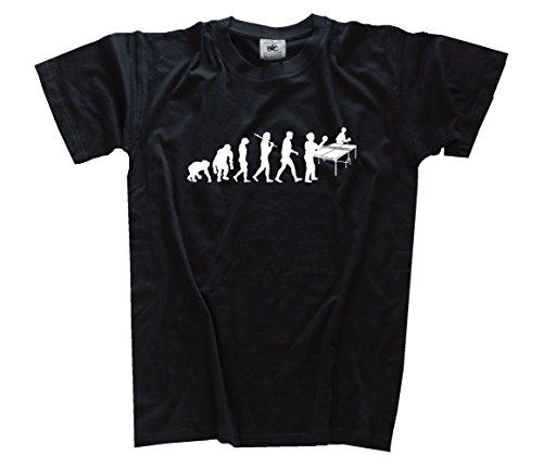 Standard Edition Evolution Tischtennis Kids Shirt Kinder-Shirt Schwarz 128