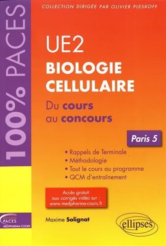 UE2 - Biologie cellulaire (Paris 5)