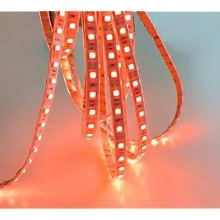 12V LED rot 5m Wasserdicht Strip Band Leiste Streifen Stripe Flex Lichter Band