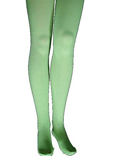 Collants, vert, opaque. Taille: 140-152