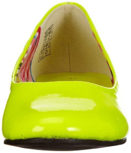 Jane Klain 221 751 Damen Ballerinas Gelb (gelb 603)