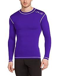 SUB Sports DUAL T-shirt de Compression Manches Longues Homme