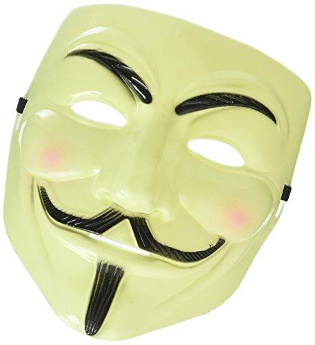 Keine shot-in Anonymous V für Vendetta Guy Fancy Kleid Halloween Maske Fancy Kleid cool (Kleid For Vendetta V)