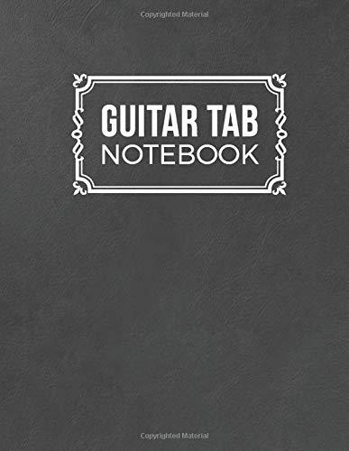 Guitar Tab Notebook: 5 Blank Chord Diagrams