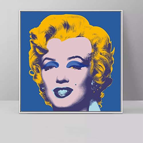 Geiqianjiumai Art Deco Multicolor Artwork Art Work Mural Frameless Painting 40x40cm