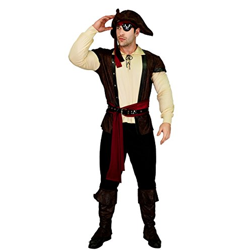 SEA HARE Kostüm-Outfits für Erwachsene Männer (Hoch Seas Pirat Kostüm)