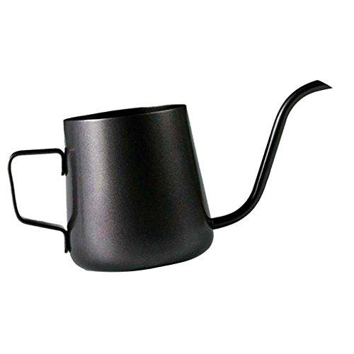 Kaffeekessel,Wasserkessel Kaffeekanne Teekanne aus Edelstahl - mit Schwanenhals schmaler Auslauf / Kaffee, Tee & Espresso Kaffee Kessel Kessel Mit Schwanenhals
