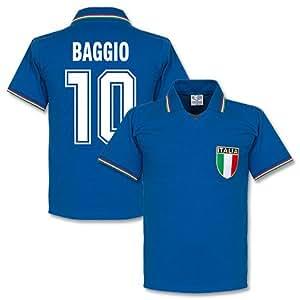 1982 Italy Home Baggio Retro Shirt - XXL