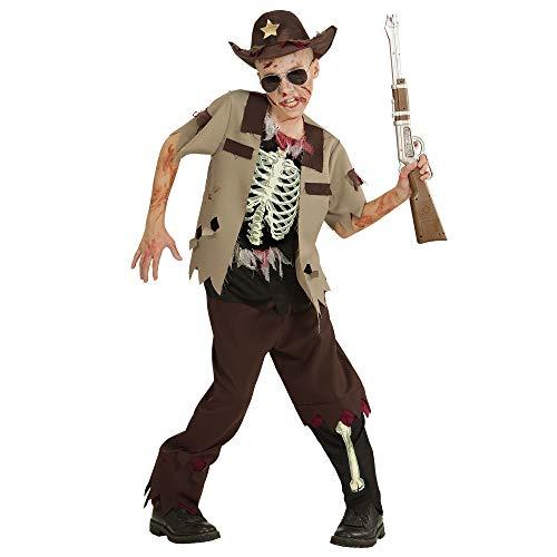 Widmann 07528 Kinderkostüm Zombie Sheriff, boys, 158 cm