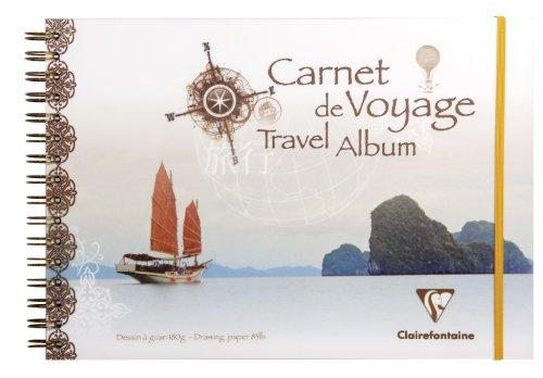 Clairefontaine A4Reise Album China Cover in verschiedenen Farben