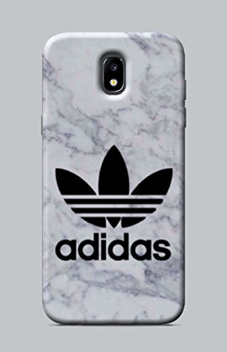 WorldSell Cover Morbida in TPU per Samsung Galaxy J5 2017 Brands 018 Adidas