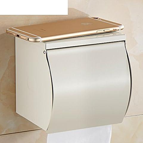 Al forno bianco asciugamano rack/ rustico toilet paper holder/Carta impermeabile/Salviette/